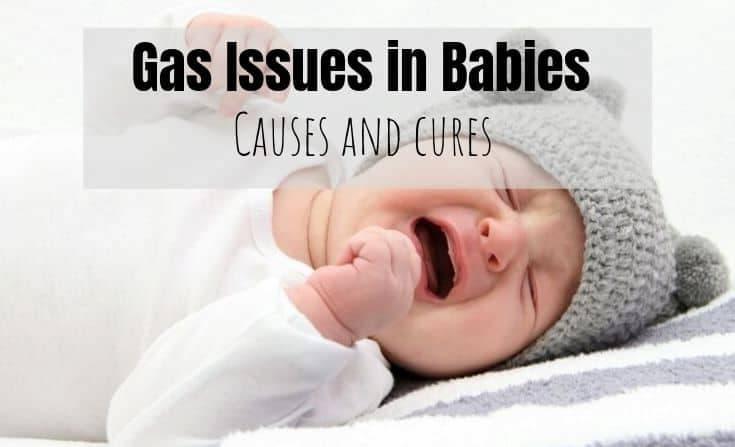 gassy baby